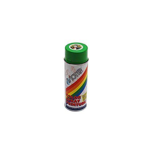 MOTIP – BOMBE DE PEINTURE MOTIP GLYCERO BRILLANT VERT POMME (DERBI) spray 400ml (01607): BOMBE DE PEINTURE MOTIP GLYCERO BRILLANT VERT…