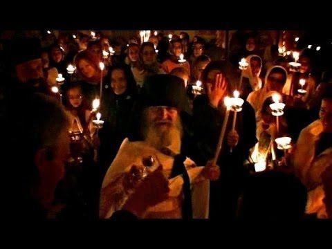 Άγιο Πάσχα με τον γέροντα   Εφραίμ