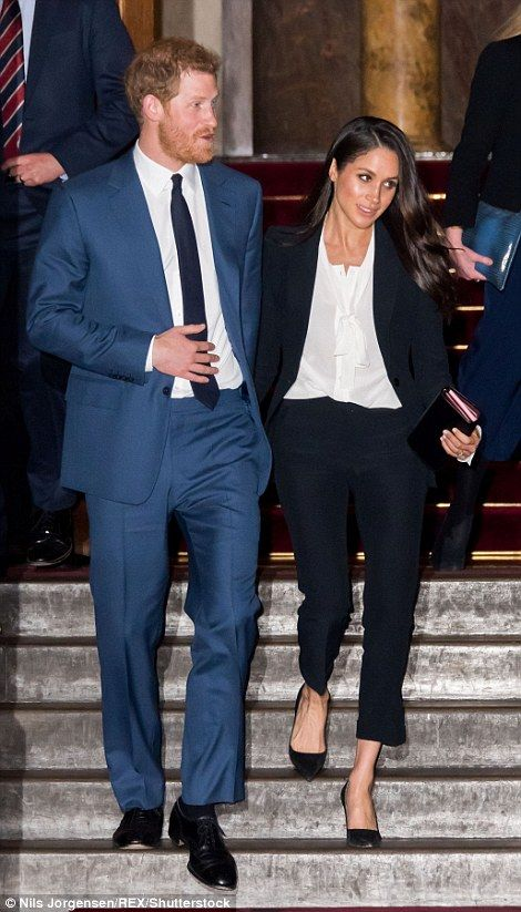 The couple were at the annual Endeavour Fund Awards at Goldsmiths' Hall in the City of London to celebrate the achievements of wounded, injured and sick servicemen and women.