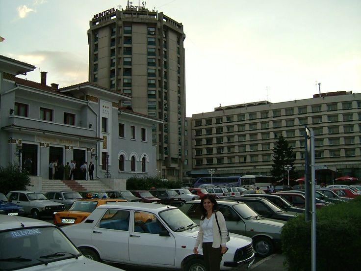 Hotel Muntenia in Pitesti, Romania.
