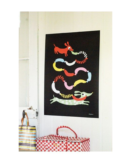 50x70cm - Graphic Print - Hot dogs - Littlephant