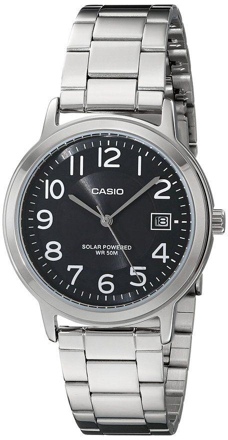 #Amazon: Casio Unisex MTP-S100D-1BVCF Solar Easy-To-Read Silver-Tone Watch for $19.99  FS (Prime) (Amazon) #LavaHot http://www.lavahotdeals.com/us/cheap/casio-unisex-mtp-s100d-1bvcf-solar-easy-read/84089