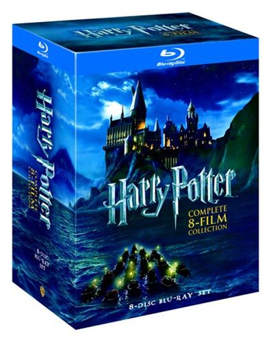 Harry Potter - Den komplette samlingen (8 disc) (Blu-ray) (Blu-ray)