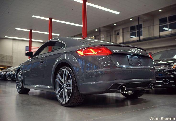 2016 Tt Coupe Nano Gray Lowered Audi Seattle U