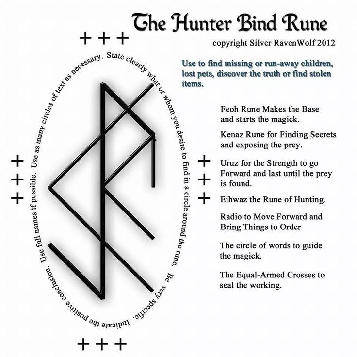 Hunter bind rune