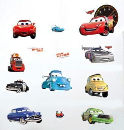 Autot -elokuvan hauskat hahmor. Paketissa 11kpl autoja. Sisusta pienen pojan tai…