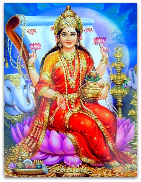 Dhanteras - Festival of Wealth: Goddess Lakshmi