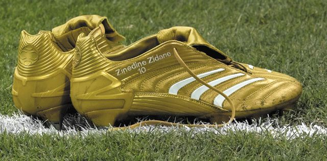 This boot is a one-off people, only the legend himself has this. I mean the French soccer maestro, Zidane.