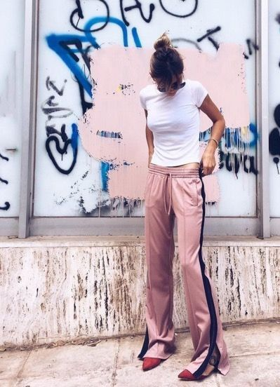 Pink sweatpants a style album                                                                                                                                                                                 More
