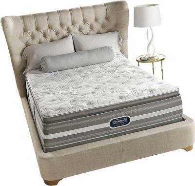 king simmons beautyrest recharge world class ii plush pillow top mattress - King Size Pillow Top Mattress