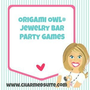 Origami Owl® Jewelry Bar party game ideas!  Follow me on Facebook! http://www.facebook.com/charmedsuite