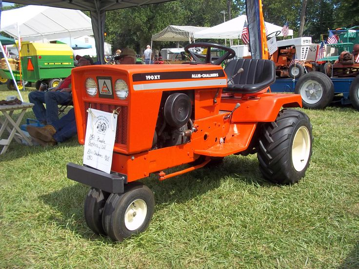 Allis chalmers 190 xt mini tricycle lawn tractor