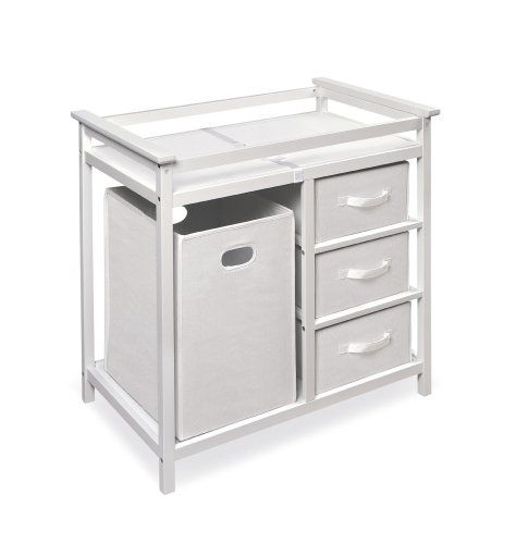 **We got this at one of our showers! :D   Badger Basket Modern Changing Table with 3 Baskets and Hamper, White Badger Basket,http://www.amazon.com/dp/B005OSHTSO/ref=cm_sw_r_pi_dp_gxJEtb0YKQ3V40JT