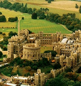 Windsor Castle is a medieval castle and royal residence in Windsor in the English county of Berkshire, notable for its long association with the British royal family and for its architecture. The original castle was built after the Norman invasion by William the Conqueror. Since the time of Henry I it has been used by a succession of monarchs and is the longest-occupied palace in Europe.
