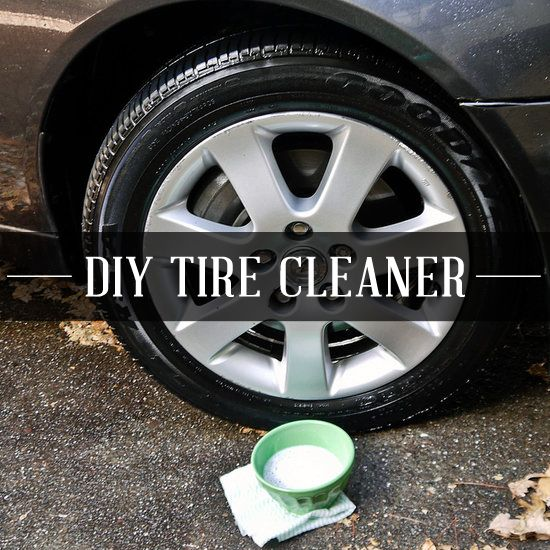 Make your tires and hub caps look brand new.