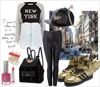 Zestaw ubrań NYC