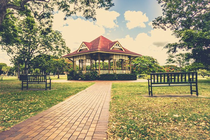 New Farm Park Rotunda, New Farm, Brisbane, QLD, Australia - Zac Harney Photography