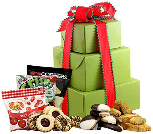 LARGE  Gluten Free Palace Holiday Delight Gluten Free Gift Tower Gourmet Gift Baskets Gourmet Gifts Gourmet Gift Set Holiday Gift Baskets *** Find out more about the great product at the image link.
