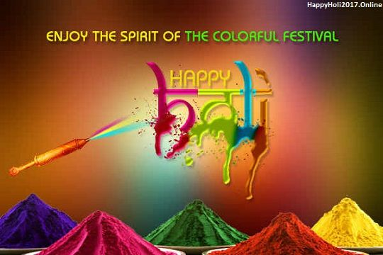 Happy Holi 2017 Colourful Greetings & Pictures Download: Holi (the colour of festival), is one of the ancient Hindu religious festivals of India. To celebrate this festival socially all we need is some beautiful Happy Holi 2017 Colourful Greetings &...