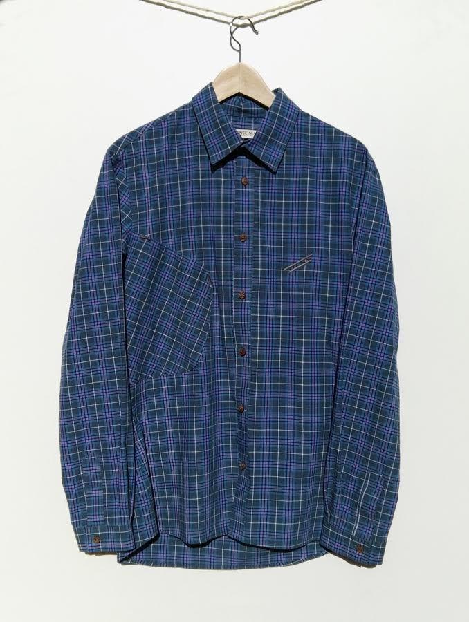 Camisa cuadriculada de algodón organico 110,00€