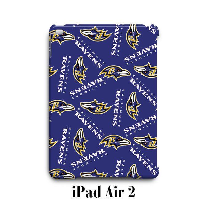 Baltimore Ravens Pattern iPad Air 2 Case Cover Wrap Around