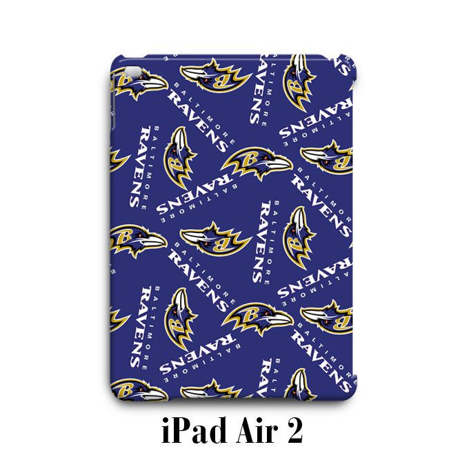 Baltimore Ravens Pattern iPad Air 2 Case Cover Wrap Around