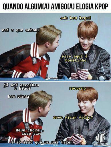 ||BTS|| #Memes  #Namjoon  #Jungkook  Cara, é bem isso! E se brincar eu ainda consigo ser pior kkkkkk