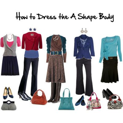 Ideas for dressing the A (pear) shape body