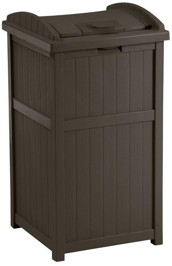 Best 25 Contemporary Outdoor Trash Cans Ideas On