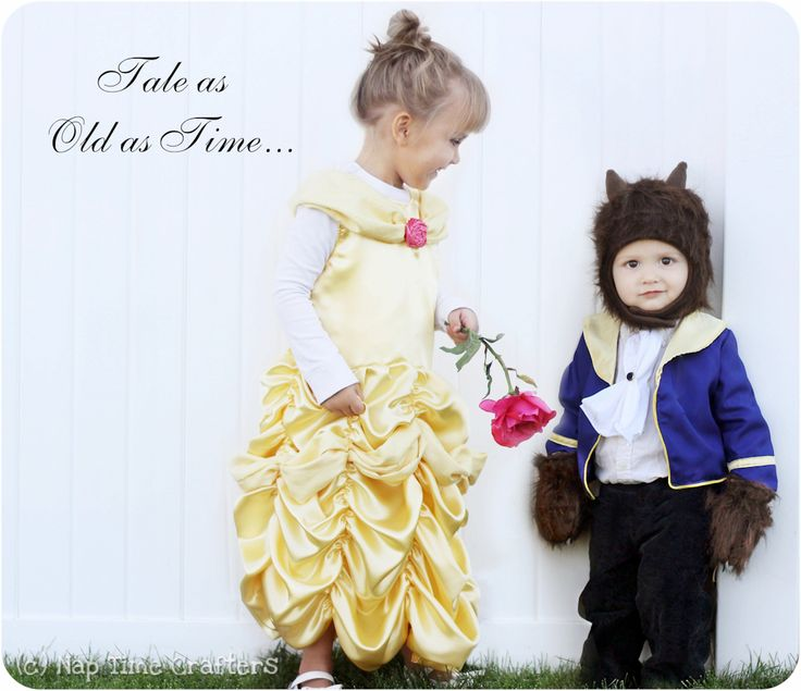with this beast inspired costume tutorial and pdf sewing pattern you can turn your little man into a little beast check out the free belle pattern too - Little Girls Halloween Costume Ideas