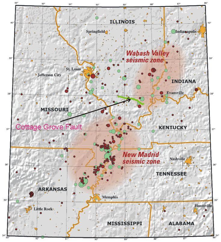 List of earthquakes in Illinois - Wikipedia