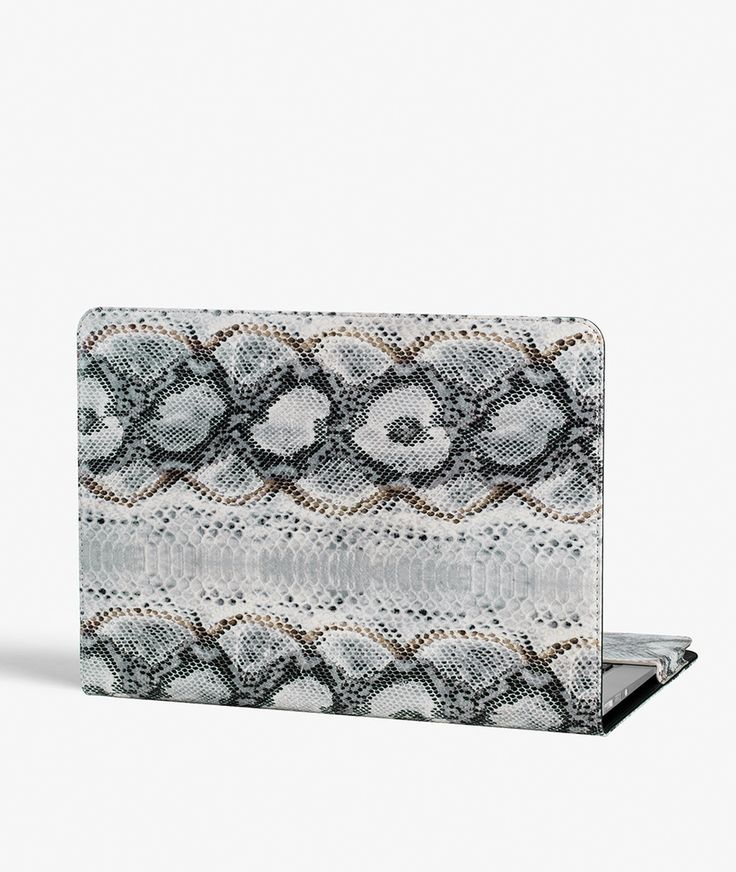 "MacBook Air 13"" Cover - Snake Snow Exclusive handcrafted leather cases for iPhone, iPad and MacBook from The Case Factory"