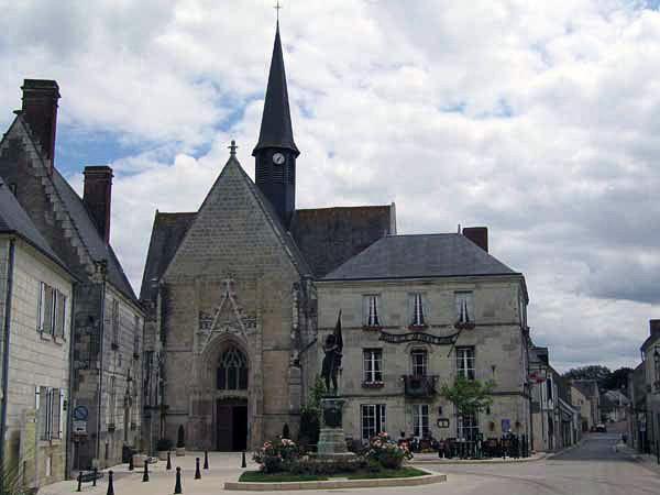Where i've been:  Sainte-Catherine de Fierbois