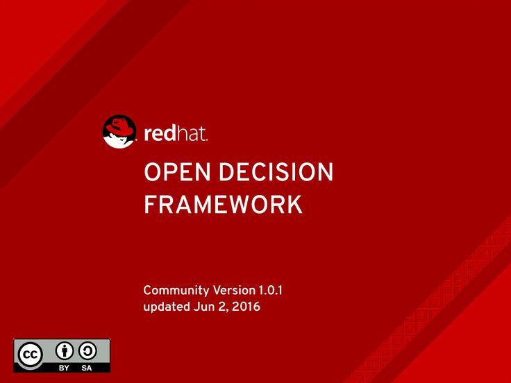 Linuxビジネスの成功者Red Hatが組織運営で心がける「オープンな意思決定フレームワーク」とは?