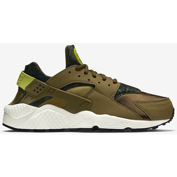 Nike Air Huarache Run Print Women's Shoe ($160) ❤ liked on Polyvore featuring shoes, nike footwear, nike shoes, patterned shoes, print shoes e nike