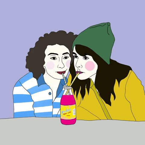 New party member! Tags: illustration broad city yas best friends ilana glazer abbi jacobson kween yas kween kim campbell