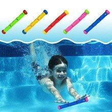 5 pcs Multicolor Diving Stick Toy Underwater Swimming Diving Pool Toy Under Wate…