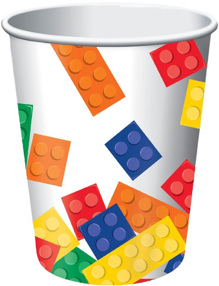 Lego-Birthday-Party-Paper-Cups