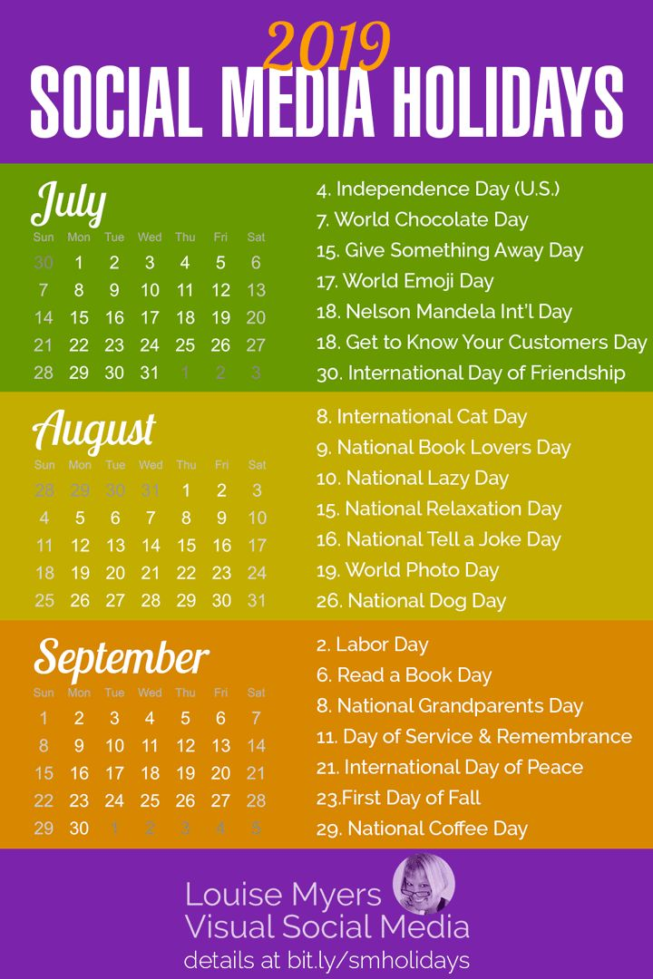Social media marketing tips: These summer 2019 holidays are essential for spicin…