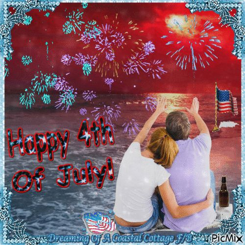 July 4th Couple Watching The Fireworks 4th of july fourth of july happy 4th of july 4th of july quotes happy 4th of july quotes 4th of july images fourth of july quotes fourth of july images fourth of july pictures happy fourth of july quotes july 4th gifs