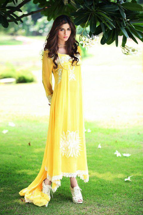 Yellow Churidar