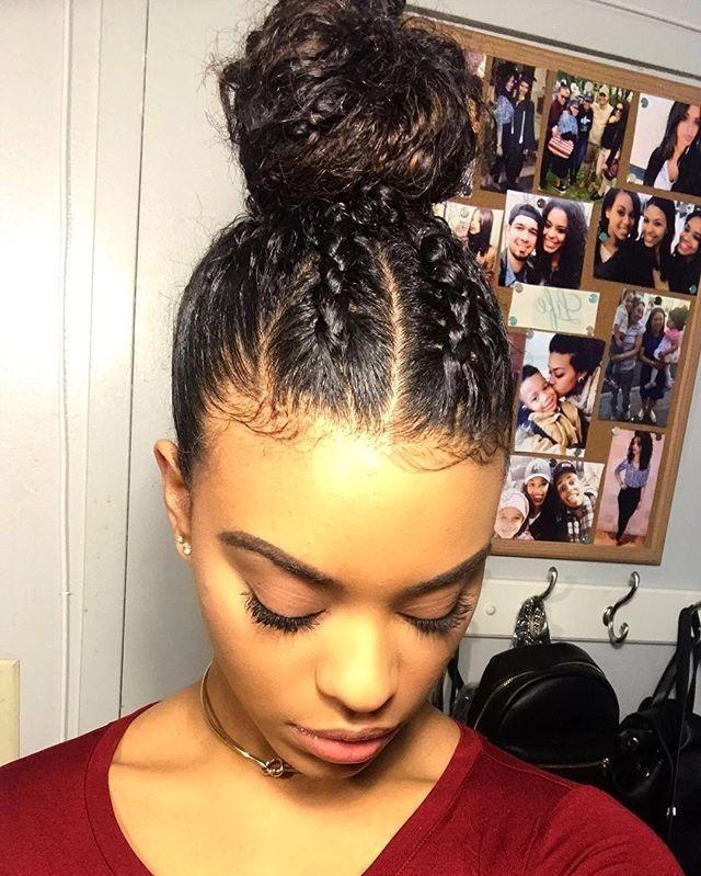 Elegante Haarschnitte für schwarzes lockiges Haar…