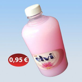 Υγρό σαπούνι χεριών σε διάφορα χρώματα 0,95 €-Ευρω