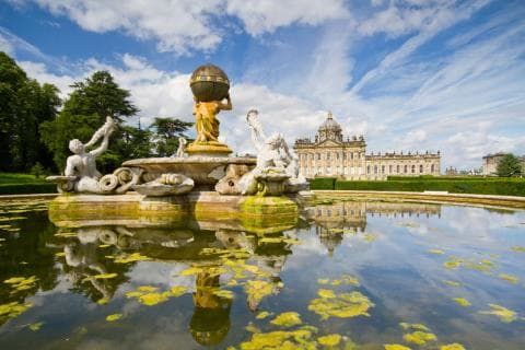 Castle Howard's magnificent architecture makes a pleasant backdrop for a family day out