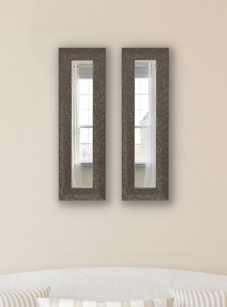 American Made Rayne Maclaren Brown Mirror Panel - P78 ~Suggested Retail~