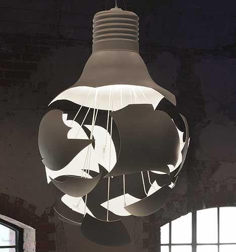 vinic lighting. The Scheisse Exploding Light Bulb From Northrn Lighting. Vinic Lighting
