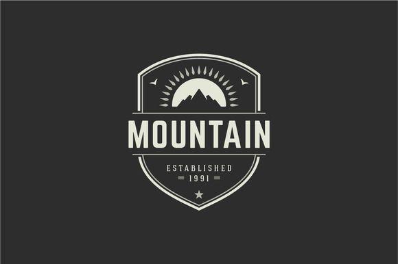 Mountain logo by Vasya Kobelev on @creativework247