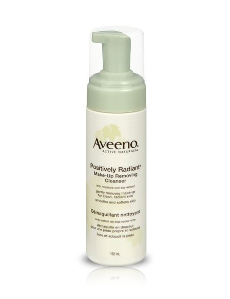 AVEENO® POSITIVELY RADIANT® Makeup Removing Cleanser | AVEENO® Canada