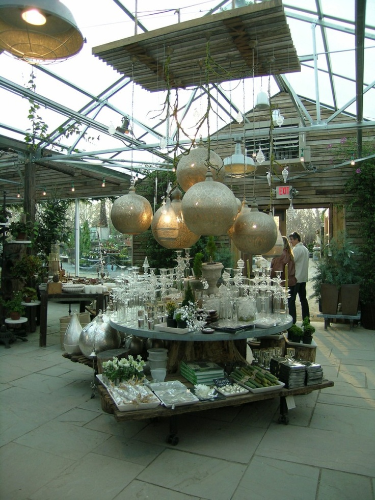 Image detail for -Your Campus: UC Davis and UC Berkeley- Anthropologie Display Interns ...: Hanging Ideas, Patios Outdoor Spaces, Christmas Merchandising Ideas, Anthropologie Display, Ceramics Trays, Candle Holders, Big Bulbs, Candles Holders, Lanterns Lights