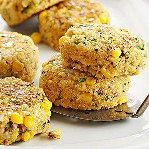 Chimichurri Quinoa & Corn Patties